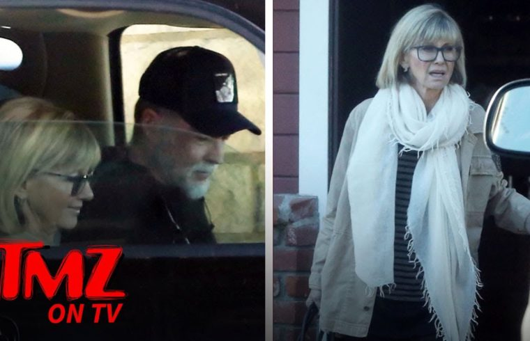 Olivia Newton-John Out for Lunch, Looking Healthy After Death Rumors | TMZ TV 1