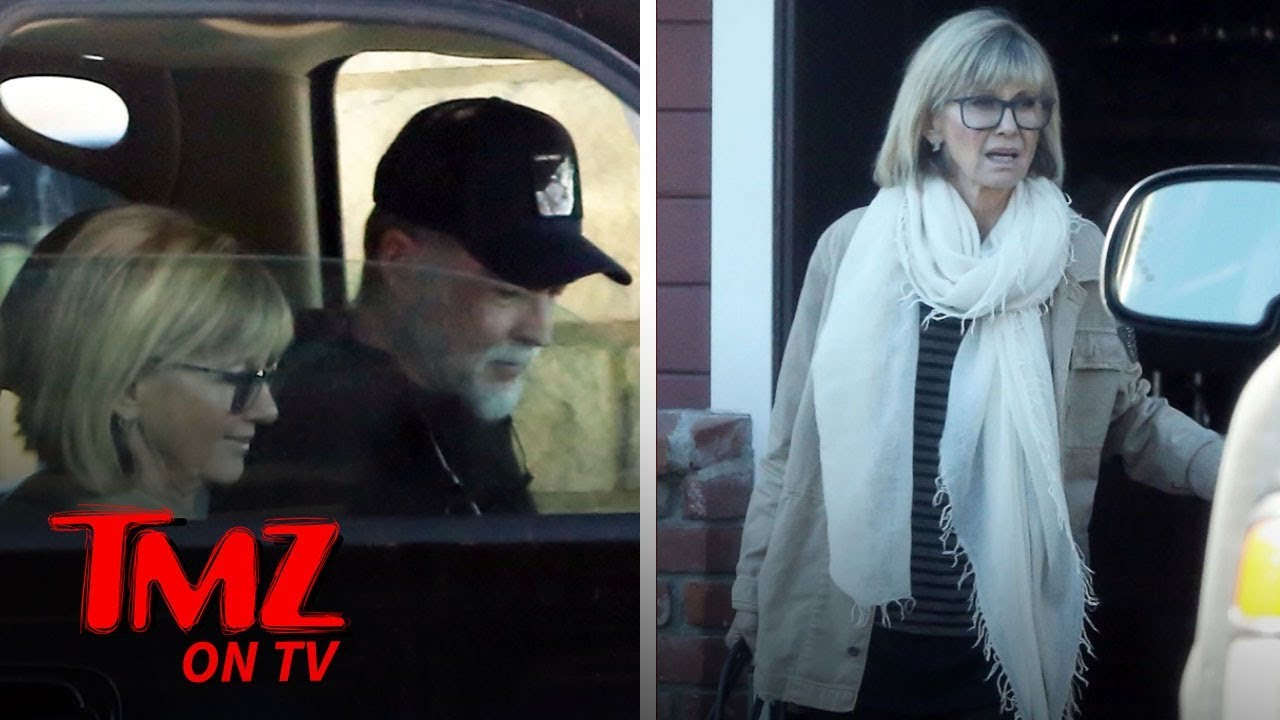 Olivia Newton-John Out for Lunch, Looking Healthy After Death Rumors | TMZ TV 4