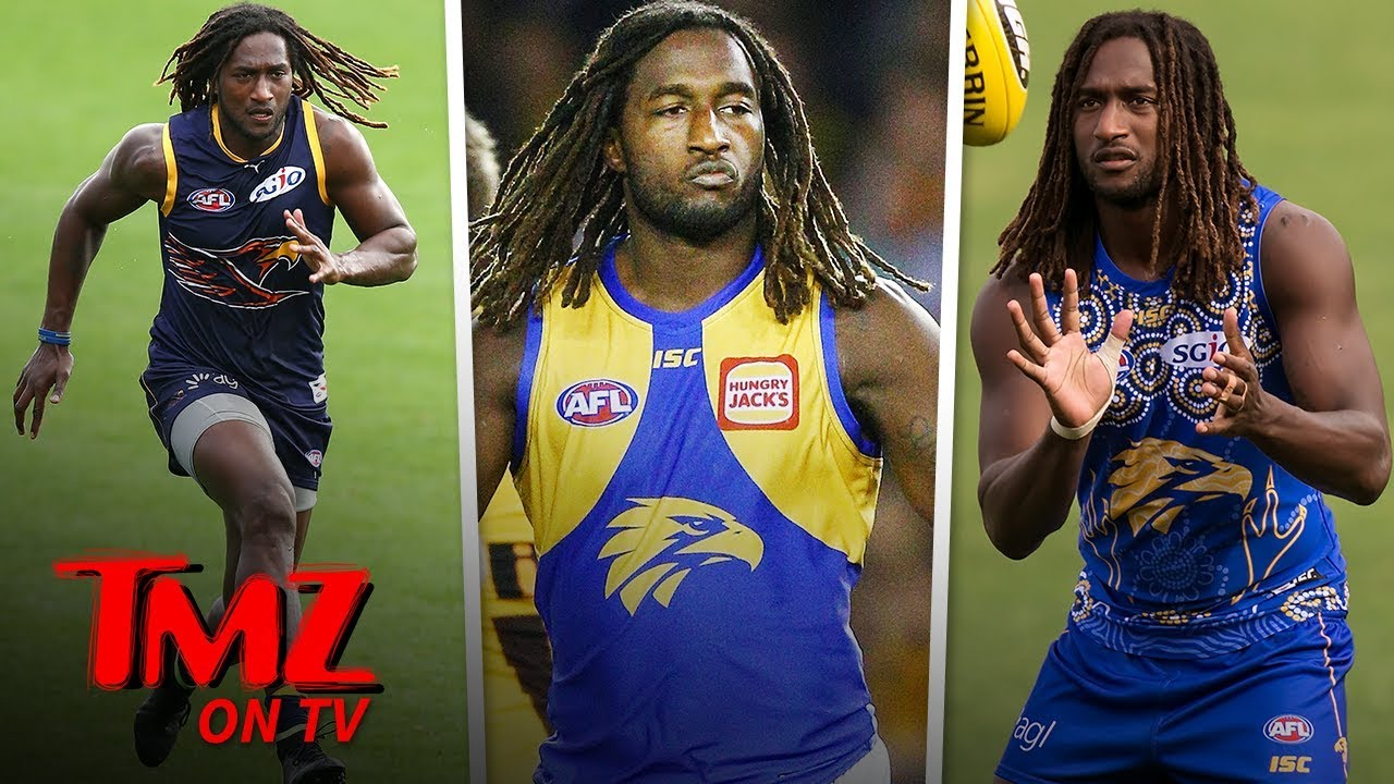 Australian Rules Superstar Nic Naitanui Is Dreamy | TMZ TV 2
