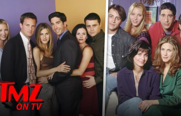 'Friends' Cast Still Making MILLIONS A Year | TMZ TV 1