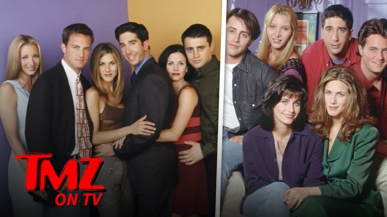 'Friends' Cast Still Making MILLIONS A Year | TMZ TV 4