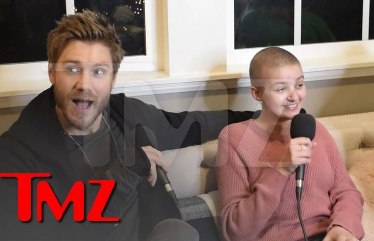 Chad Michael Murray Surprises Teenage Cancer Survivor In Emotional Video | TMZ 1