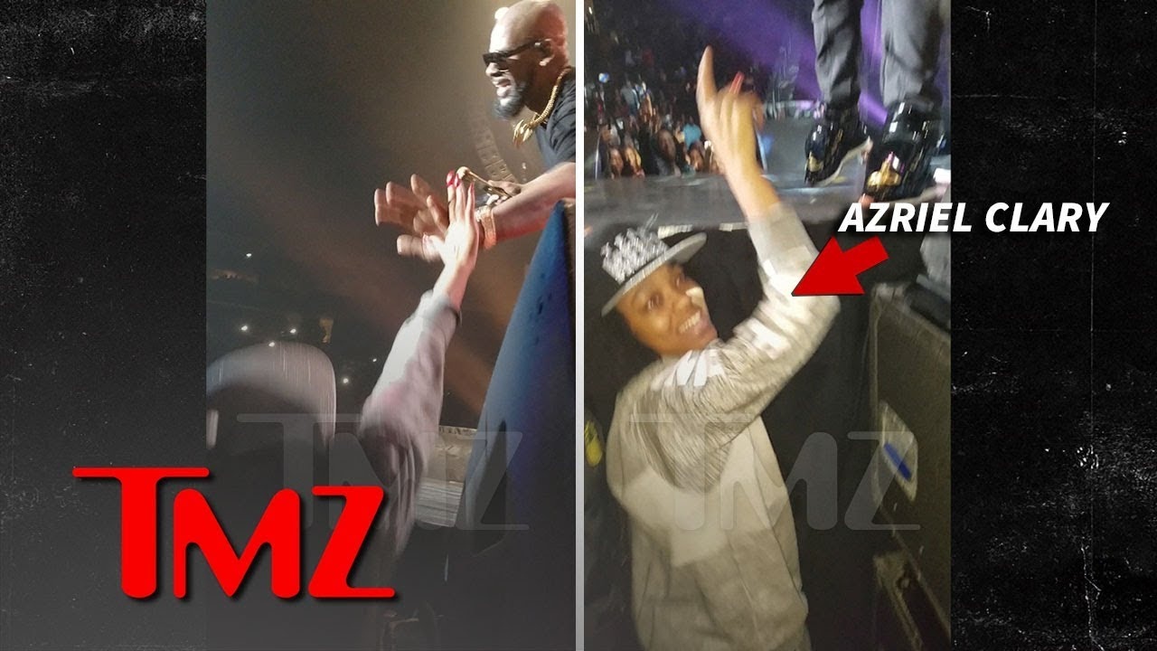R. Kelly's Alleged Sex Slaves Front Row and Cheering at 2016 Concert | TMZ 7