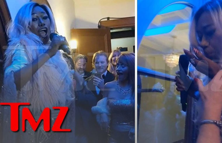 The Pointer Sisters' Bonnie Throws Up Onstage, Keeps Performing 'I'm So Excited'   TMZ 1