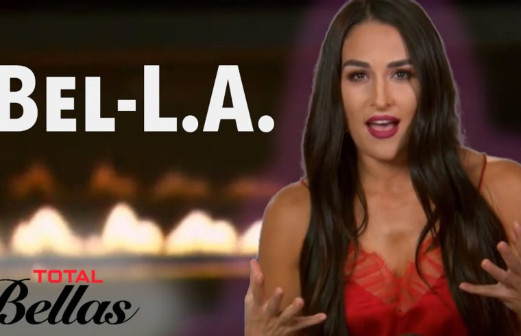 Nikki Tells Brie Bella She Wants to Move to L.A. | Total Bellas | E! 1