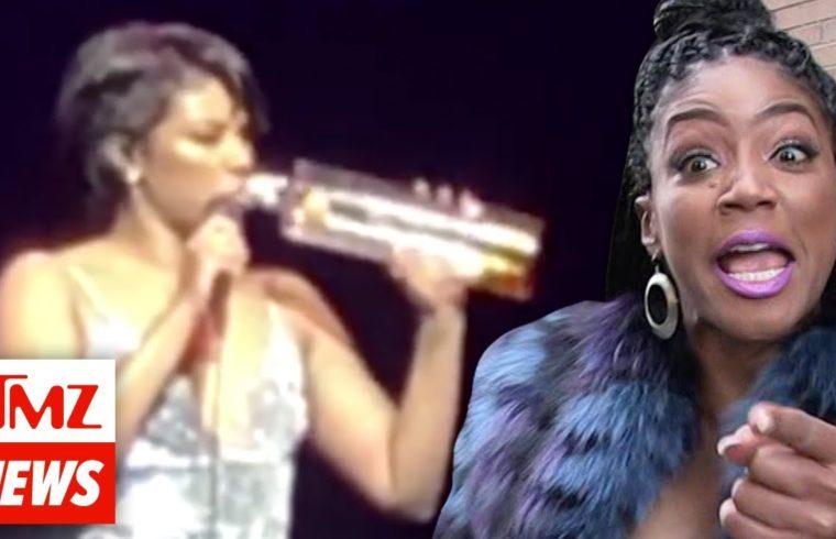Tiffany Haddish Bombs During New Year's Eve Performance | TMZ NEWSROOM TODAY 1