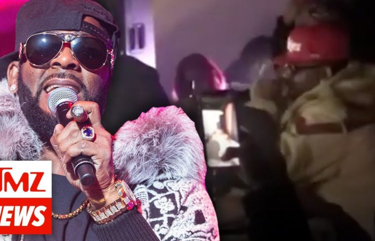 R. Kelly Has Run-in with Cops During Birthday Party in Chicago Nightclub | TMZ NEWSROOM TODAY 1