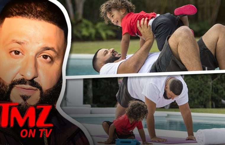DJ Khaled Has The Cutest Workout Ever With His Son | TMZ TV 1