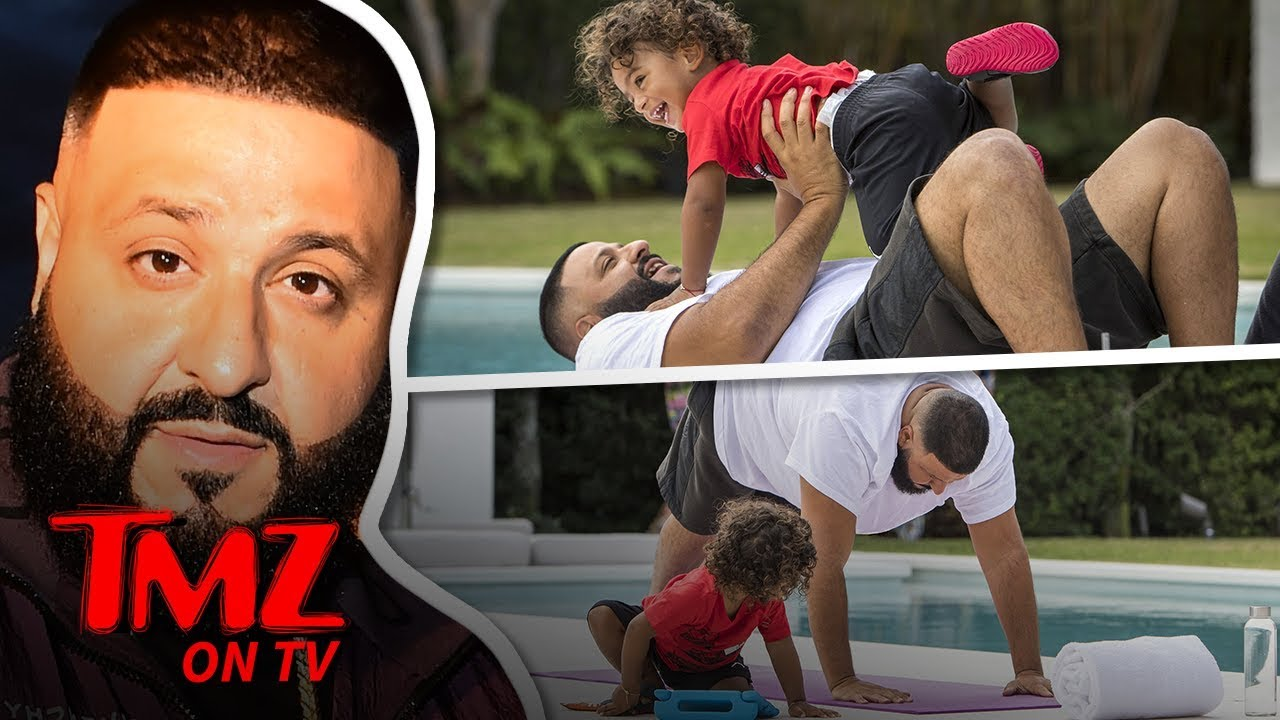 DJ Khaled Has The Cutest Workout Ever With His Son | TMZ TV 4