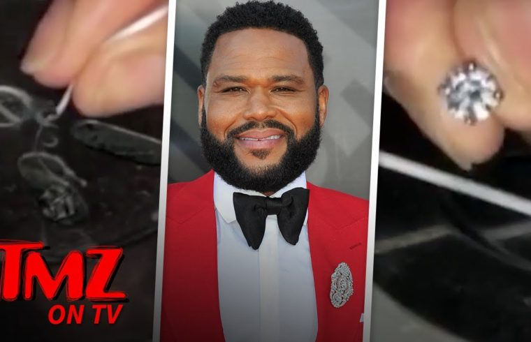 Anthony Anderson Dubs Himself 'Ghetto MacGyver' After Pulling Diamond from Drain | TMZ TV 1