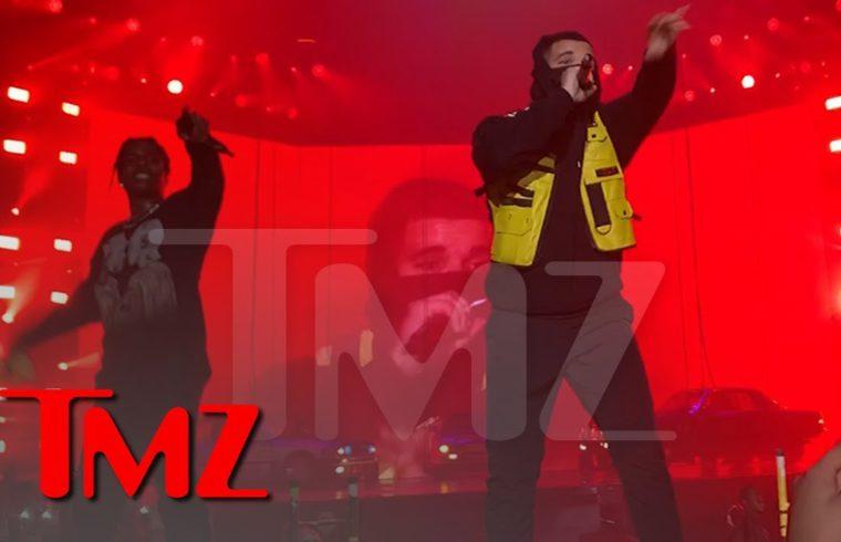 A$AP Rocky Brings Out Drake, Does His Best Travis Scott Impression | TMZ 1