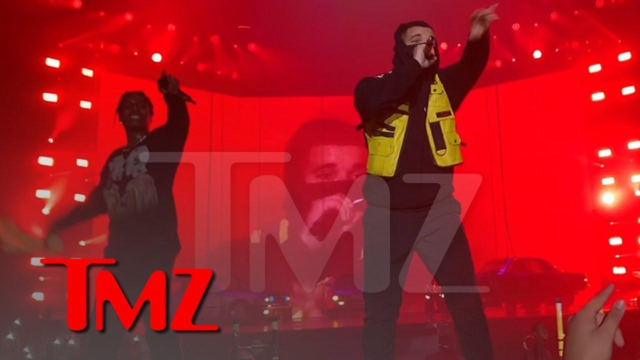 A$AP Rocky Brings Out Drake, Does His Best Travis Scott Impression | TMZ 5
