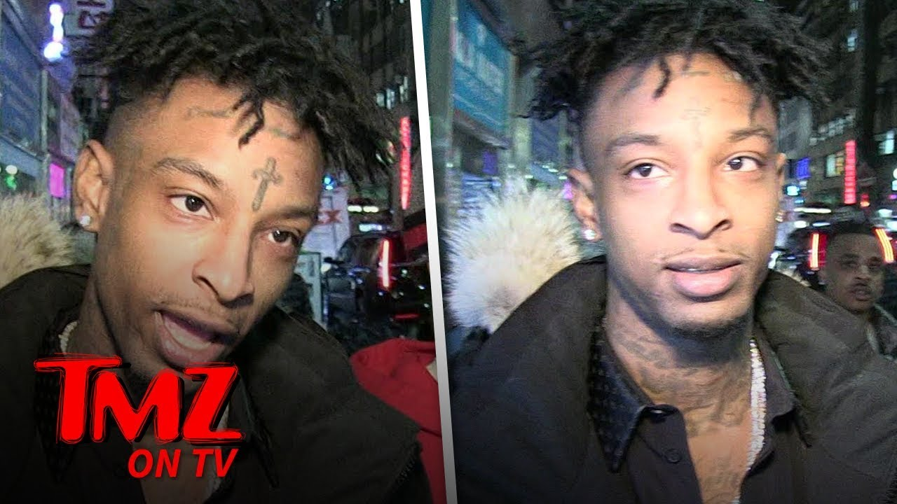 21 Savage Thinks He Was Arrested For Lyrics In His Song 'A Lot' | TMZ TV 3