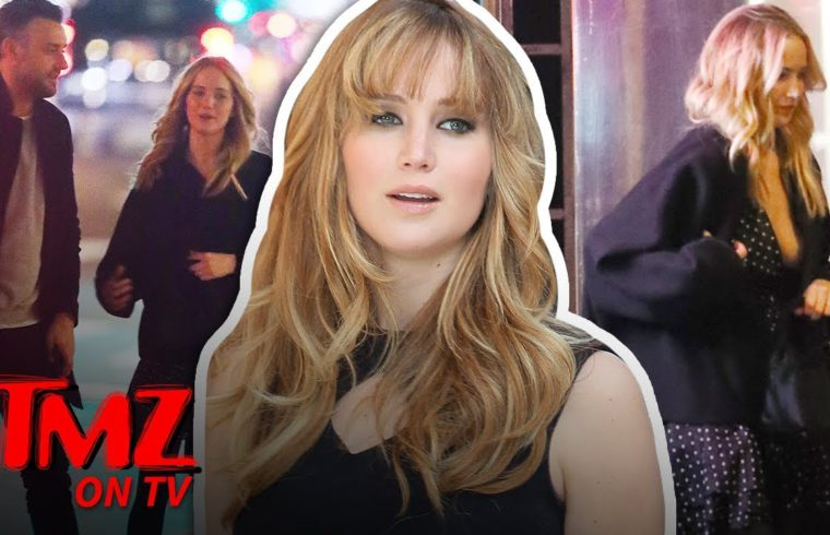 Jennifer Lawrence Is Engaged!   TMZ TV 1