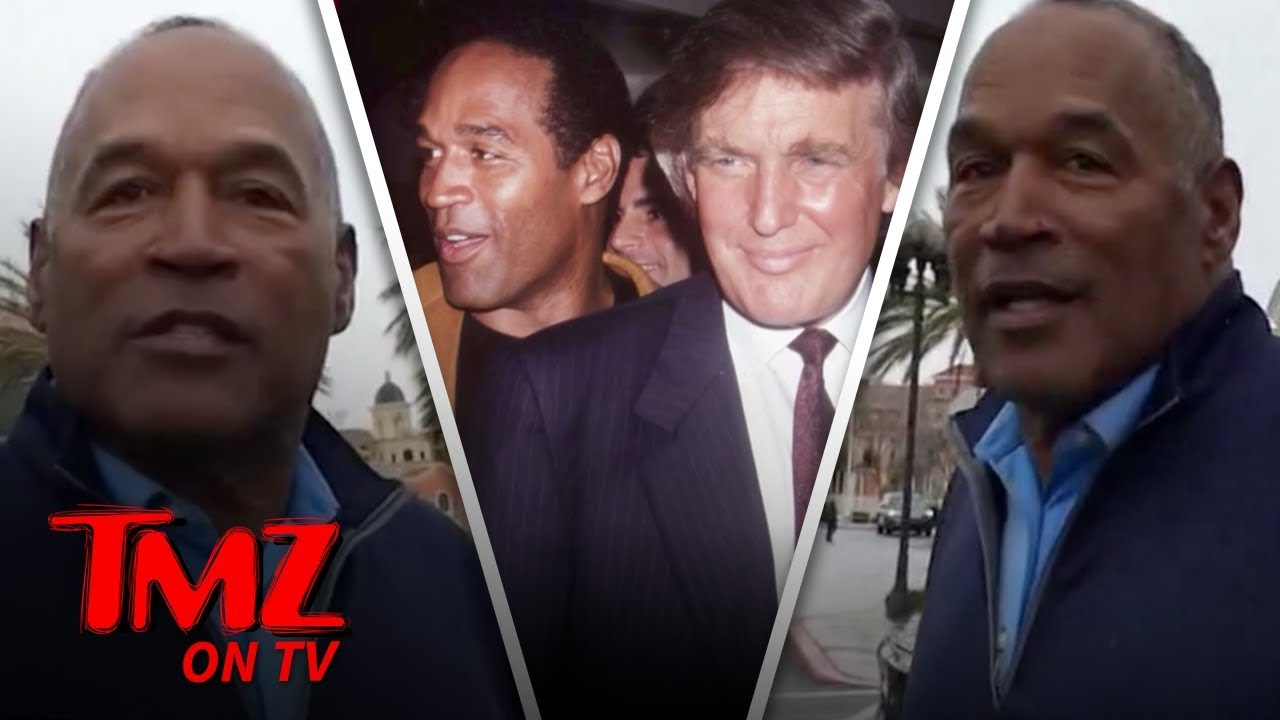 O.J. Simpson Talks Trump & More! | TMZ TV 5
