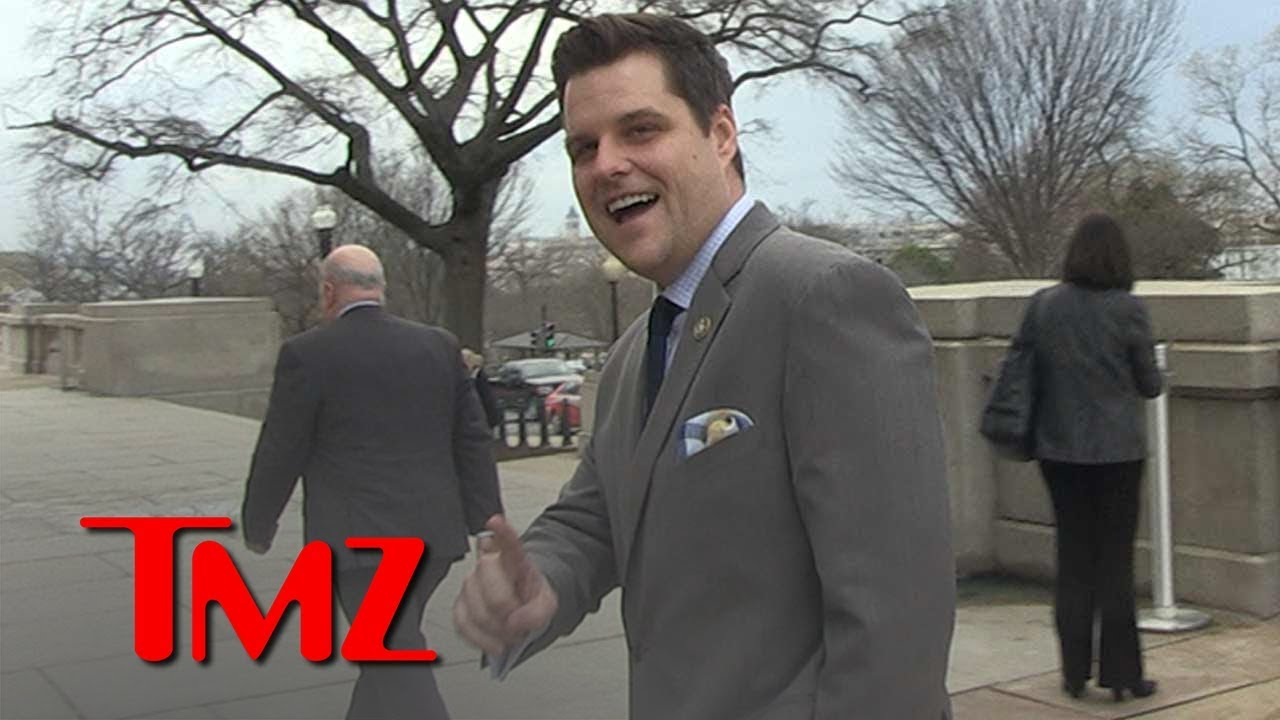 Congressman Matt Gaetz Says He'd Swipe Right with AOC | TMZ 4