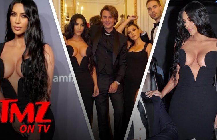 Kim K Takes Her Own Paparazzi Around | TMZ TV 1