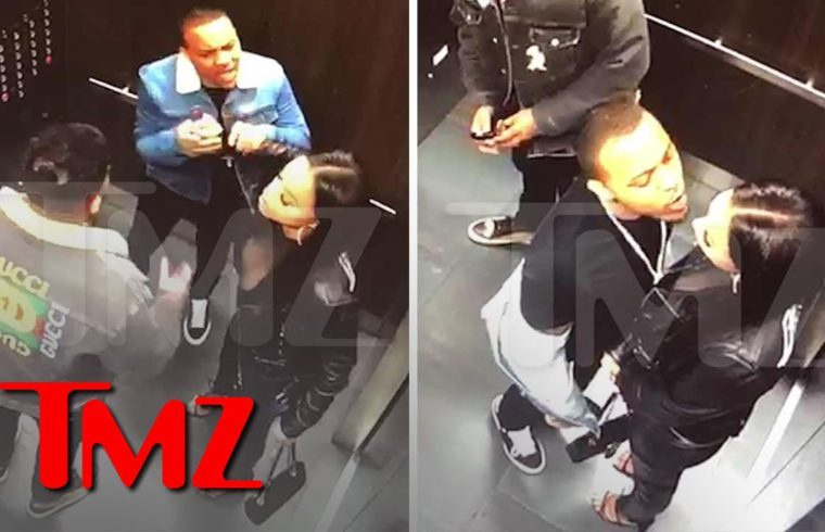 Bow Wow Surveillance Video From Fight With GF Shows His Jealous Rage 1