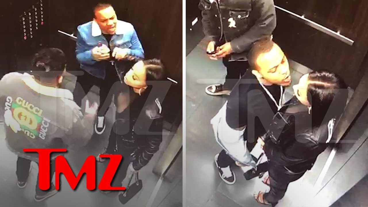 Bow Wow Surveillance Video From Fight With GF Shows His Jealous Rage 5