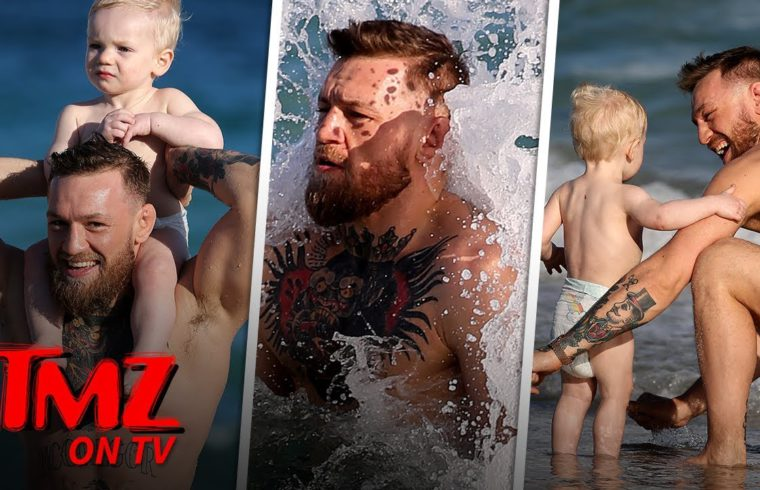 Conor McGregor Has A Fun Beach Day With His Son! | TMZ TV 1
