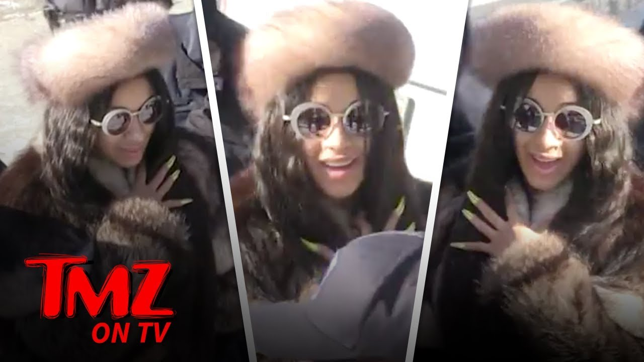 Cardi & Offset Working Things Out?! | TMZ TV 5