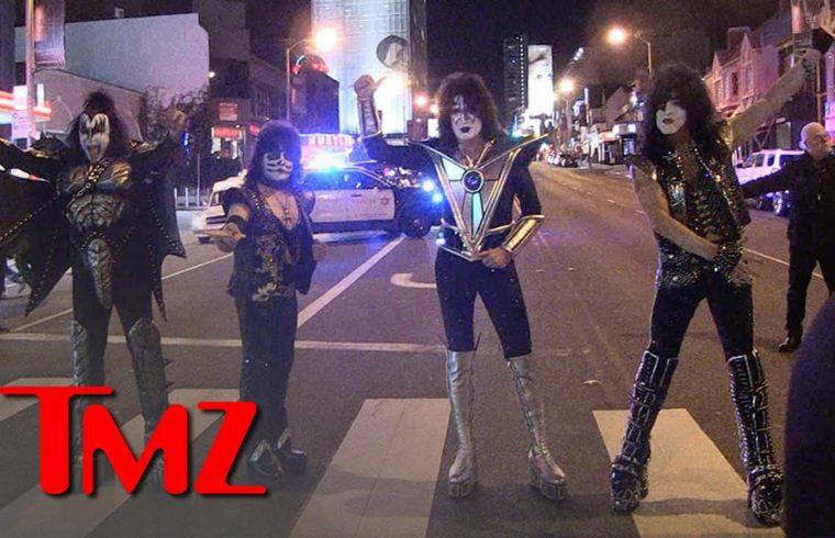 KISS Kicks Off Farewell Tour With Historic Show on Sunset Strip | TMZ 1