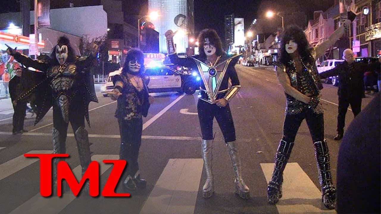 KISS Kicks Off Farewell Tour With Historic Show on Sunset Strip | TMZ 4