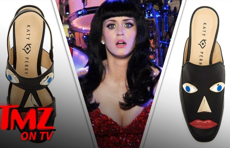 Katy Perry 'Blackface' Shoes Officially Pulled from Shelves   TMZ TV 1