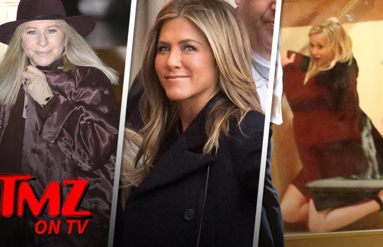 Jennifer Aniston's 50th Birthday Party Included Brad Pitt | TMZ TV 1