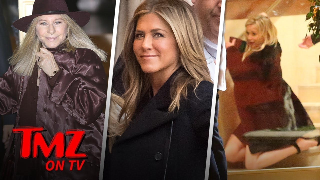 Jennifer Aniston's 50th Birthday Party Included Brad Pitt | TMZ TV 3
