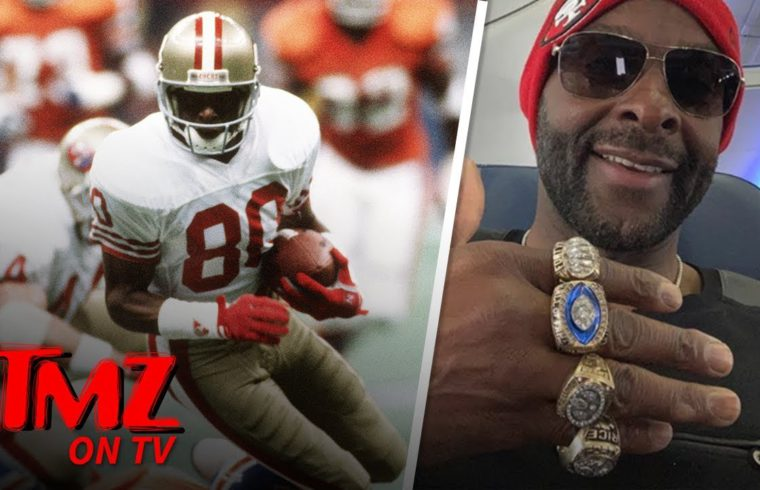 Jerry Rice Likes To Gloat That He's The GOAT | TMZ TV 1