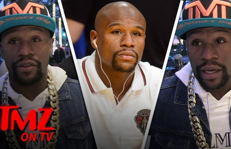 Floyd Mayweather Loves Gucci & Doesn't Care About Blackface | TMZ TV 1