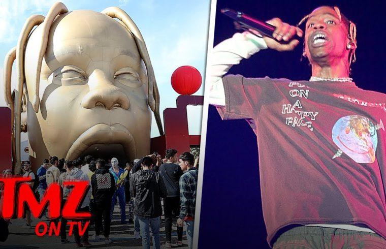 Travis Scott Fans Lose Their Mind When Show Is Canceled | TMZ TV 1