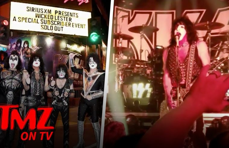 KISS Final Tour Kicks Off In Hollywood   TMZ TV 1
