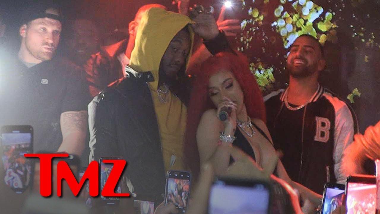 Cardi B Bounces Back from Grammys Drama with Pre-Valentine's Day Show   TMZ 3