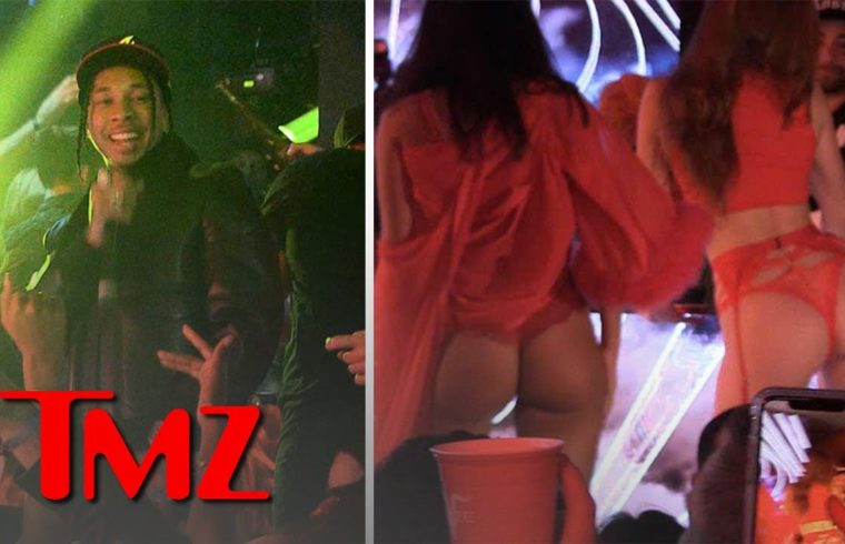 Tyga and Guavo Get Lit at Pre Valentines Day Bash | TMZ 1