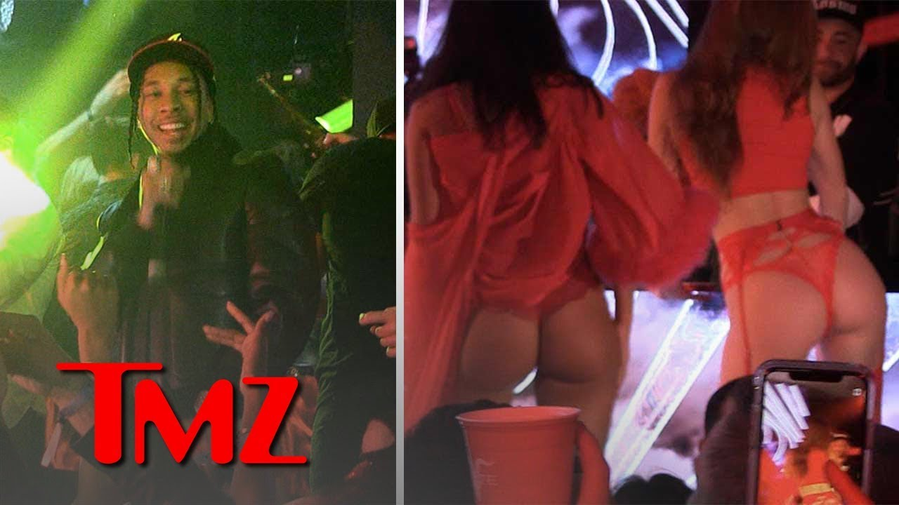 Tyga and Guavo Get Lit at Pre Valentines Day Bash | TMZ 5