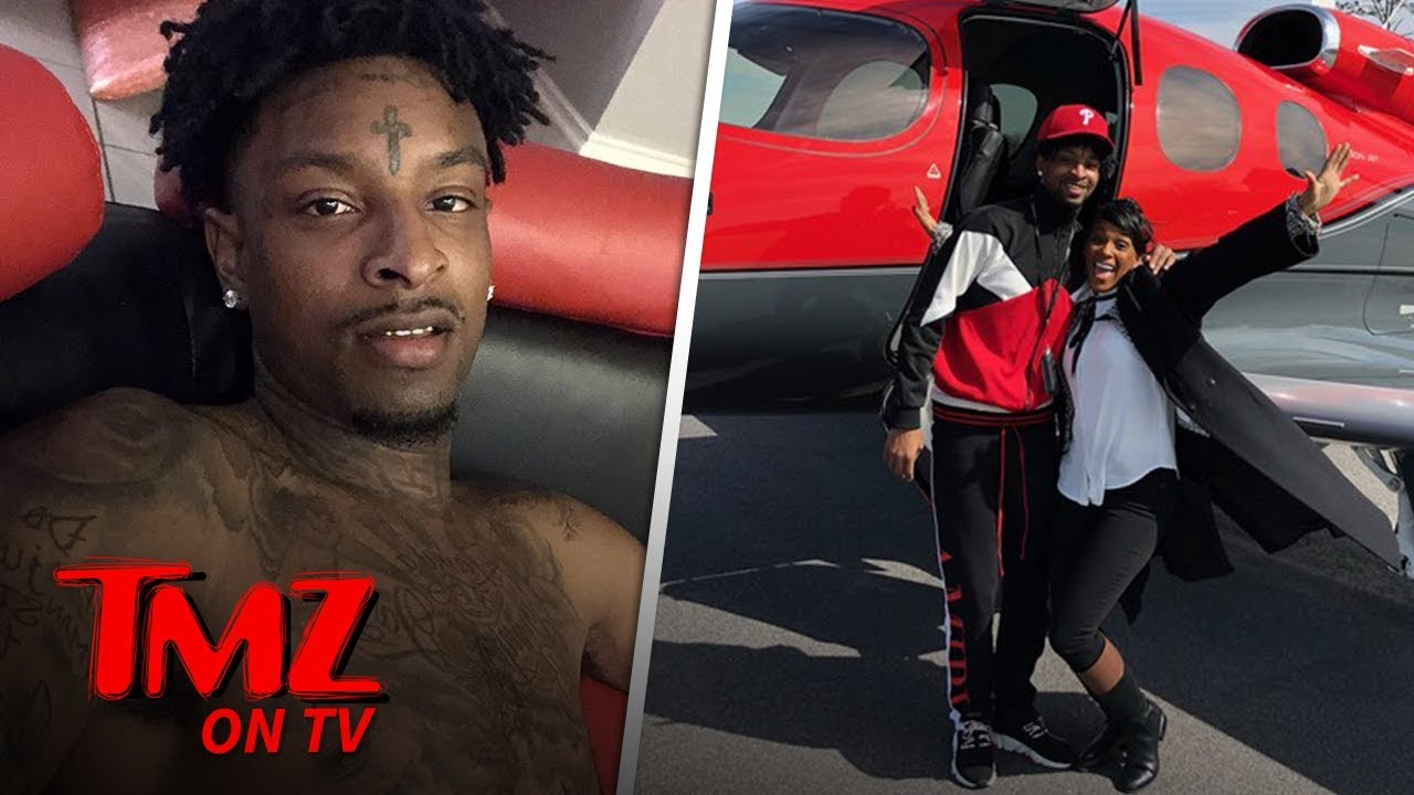 21 Savage Released from ICE Detention | TMZ TV 5