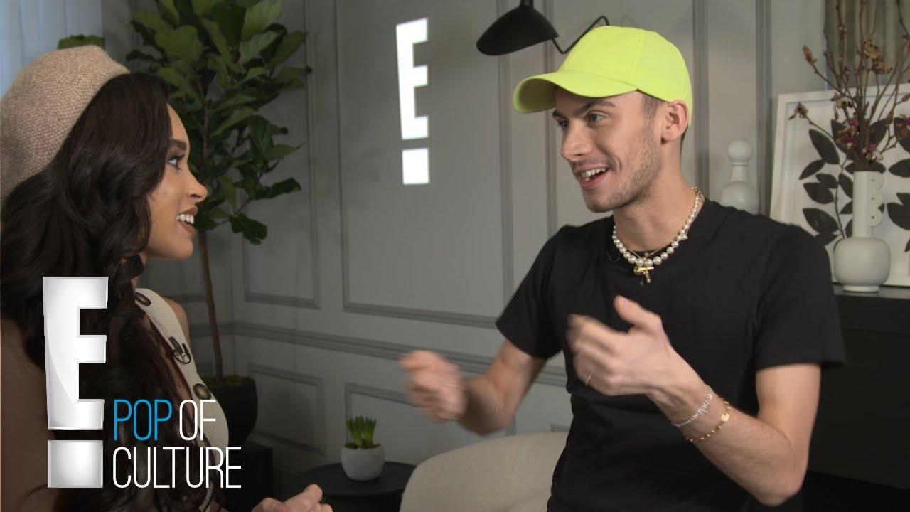 Christian Cowan Talks First Time Seeing Gaga Wear His Design | First Fit | E! 4