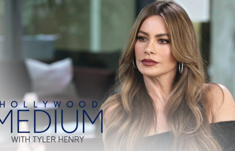 Sofia Vergara Connects to Her Late Aunt | Hollywood Medium with Tyler Henry | E! 1
