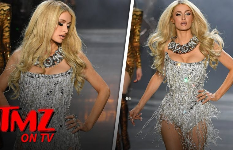 Paris Hilton SLAYS The Runway | TMZ TV 1
