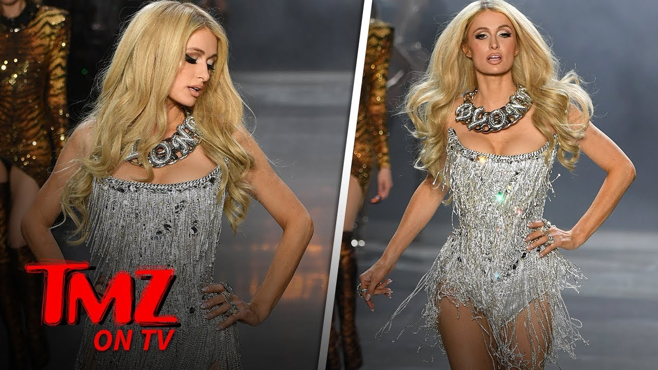 Paris Hilton SLAYS The Runway | TMZ TV 3