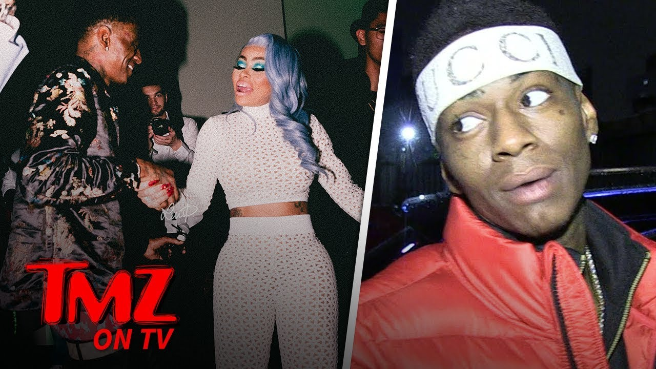 Soulja Boy & Blac Chyna Are Dating?! | TMZ TV 4