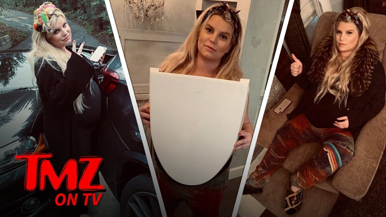 Jessica Simpson Is Having A Hard Time With Being Fat Becuase She's Pregnant | TMZ TV 2