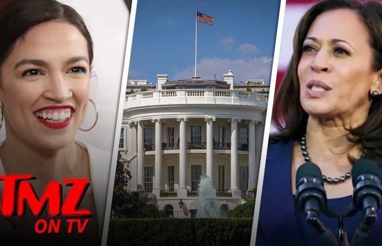 Alexandria Ocasio-Cortez Says Its Okay For A President To Smoke Weed | TMZ TV 1
