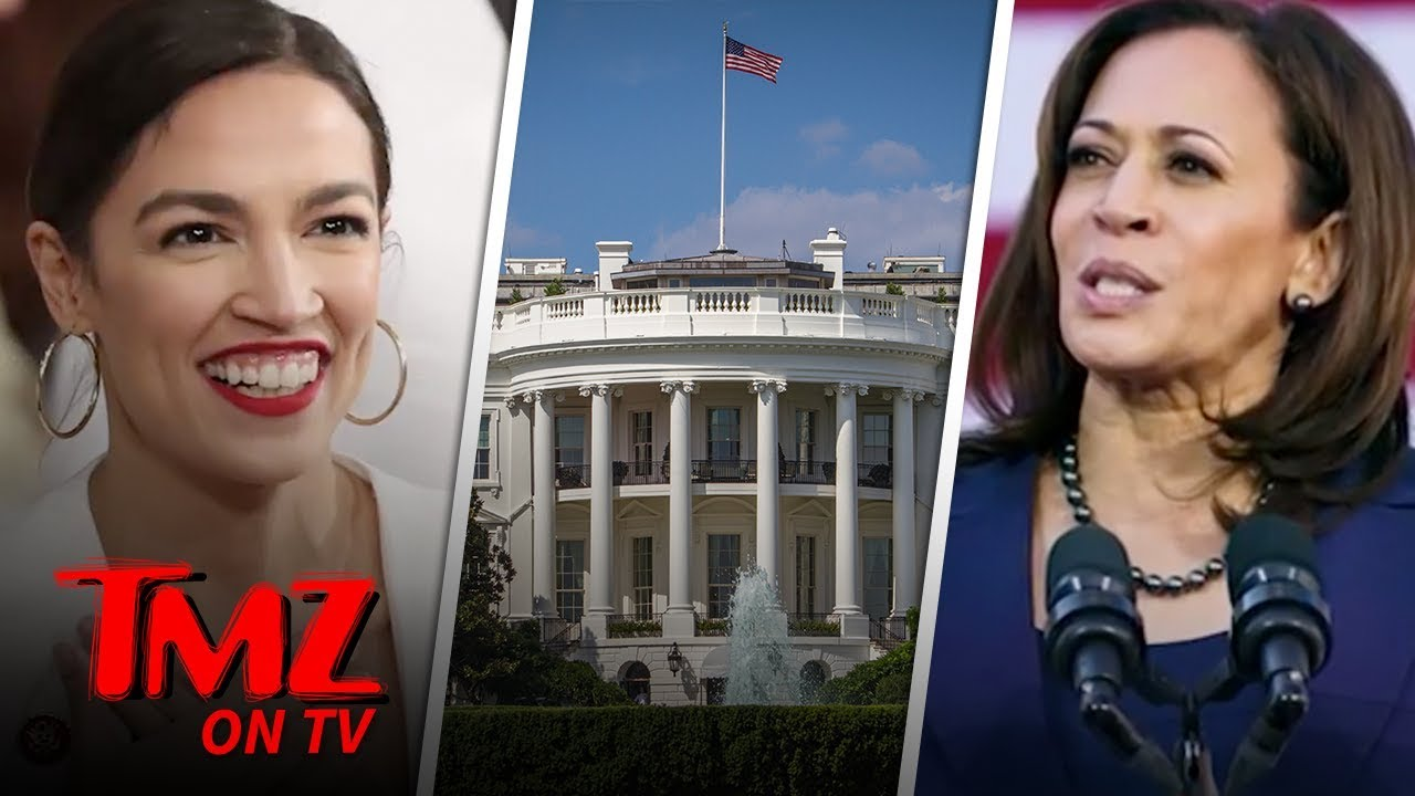 Alexandria Ocasio-Cortez Says Its Okay For A President To Smoke Weed | TMZ TV 1