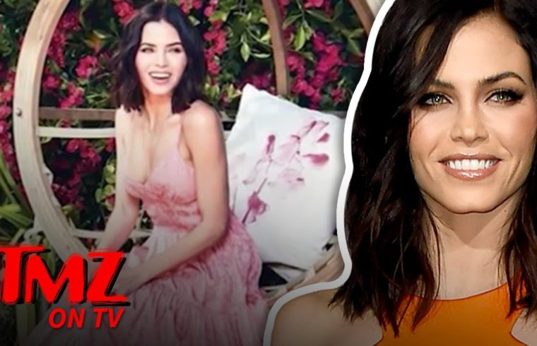 Jenna Dewan Tells Us The Secret To A Happy Life | TMZ TV 1