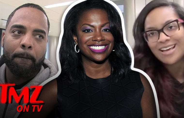 Kandi Burruss' Husband Says To Lay Off Her Joining Big Brother | TMZ TV 1