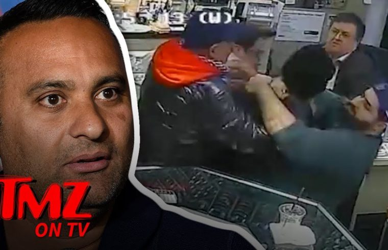 Comedian Helps Stop Attempted Jewlery Robing   TMZ TV 1