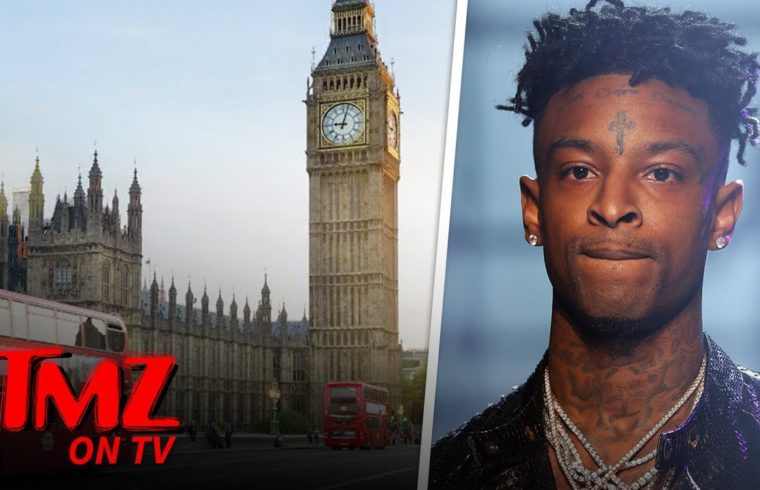 21 Savage Surrenders, Booked & Released for Felony Theft After Skipping Gig | TMZ TV 1